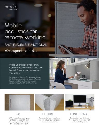 Mobile acoustical solutions brochure